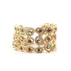 CHIC SHINNING HOLLOW OUT WOMEN'S CHARM BRACELET