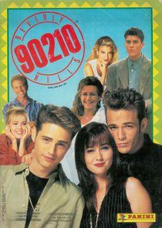 Beverly Hills 90210, 1993; Panini, Modena; album per la raccolta di 120 figurine