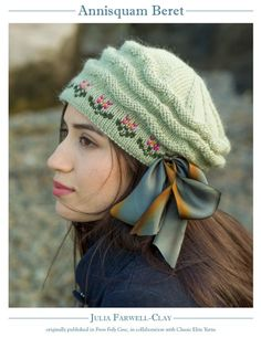 Annisquam Beret  PATTERNFISH - the online pattern store