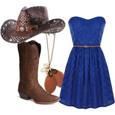 A little more country than that, created by callinnacooper on Polyvore