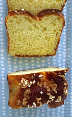 No knead Pan Brioche - Pan Brioche senza impasto - Comidademama