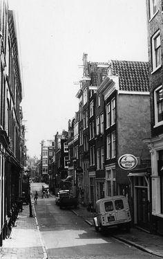 1970's. Jordaan section in Amsterdam. #amsterdam #1970 #Jordaan