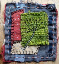scraps stitched by Jan Brattain