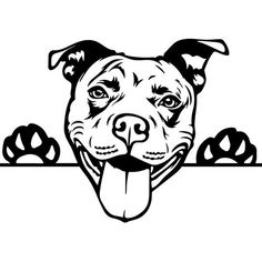 PITBULL IMAGE Svg for your projects, cricuit machine or any other cutting machine. pleas note this is only an svg and in the svg format. Pitbull Images, Dogs Pitbull, Perros Pit Bull, Animal Drawings, Art Drawings, Pitbull Drawing, Image Svg, Terrier Breeds, American Pit