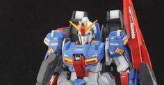 PG Zeta Gundam - Customized Build Modeled by Jon-K Zeta Gundam, Nerf, Building, Buildings, Construction
