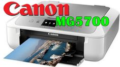 Canon PIXMA MG5700 Driver Free Download, Experience the imaginative flexibility of cloud printing and also scanning with boosted PIXMA Cloud Link.