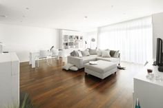 Living-Room,  Penthouse in Northern Germany, Luebeck, modern