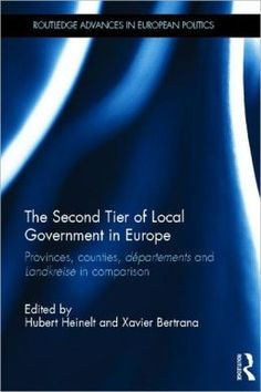 The second tier of local government in Europe. Routledge, 2011
