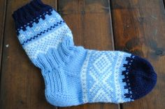 Marius mønstrede sokker