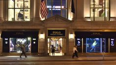 Ralph Lauren on 5th Ave NYC by Sharon Winter-Schorr