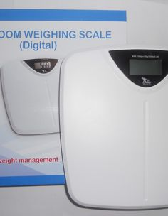 A digital weighing scale by Dr. Gene with strong tempered fiber platform. This scale displays weight up to 150 kgs. Its LCD display is perfect for clear viewing. Features non-slip platform and tap-on technology. Weigh yourself from the comfort of your home.