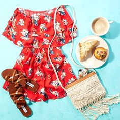 I will have the floral romper with a side of sunshine!