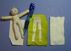 Small Waldorf Doll Part 2