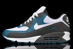 Nike Air Max 90 White Midnight Fog Lush Teal