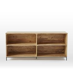 Rustic Modular Bookcase | West Elm