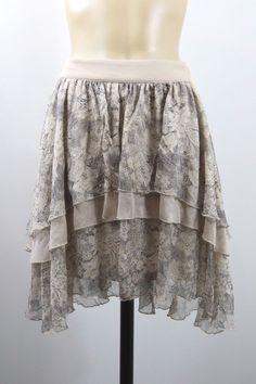 Size L 14 Portmans Ladies Skirt Vintage Inspired Boho Soft Feminine Indie Design    eBay