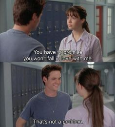 AND THEN HE DID....a walk to remember...I love this show so much. O_O haha