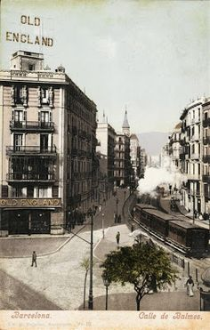 Carrer Balmes  Desconegut  1905-1915  Arxiu Fotogràfic de Barcelona