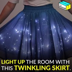 Twinkling Stars Skirt is perfectly magical!