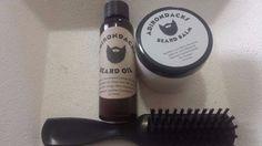 Adirondacks Beard Oil 2 oz Beard + Balm 2 oz + Beard Brush for Men Alcohol-Free  #Adirondacks