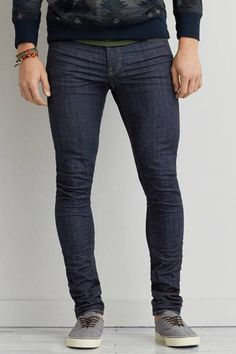 Super Skinny Extreme Flex Jean by AEO | New Extreme Flex denim combines Dual FX