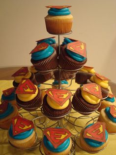 Take it easy! Add a little food coloring & a printed logo and BAM, POW...an ActionDash cupcake for sale for $2 a pop!