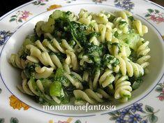 La pasta con la borragine è un primo piatto leggero ma gustosissimo!