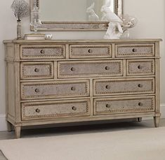 Hooker Furniture Sanctuary Ten Drawer Dresser in Pearl Es... https://www.amazon.com/dp/B00BIGFI3Y/ref=cm_sw_r_pi_dp_U_x_sdRnAbEPAJFND