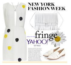 """""""#58 Yahoo Style NYFW Trend - Fringe: 12/09/15 (WGC)"""" by pinky-chocolatte ❤ liked on Polyvore featuring Thakoon, Proenza Schouler and Forzieri"""