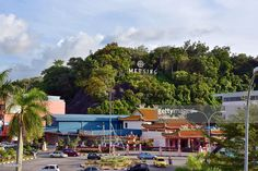 Urban landscape with traffic circle, chinese temple, life time at Mersing, Malaysia, Asia. #getty #gettyimages #travel #mersing #city #photo #photography #www.vincent-jary.fr