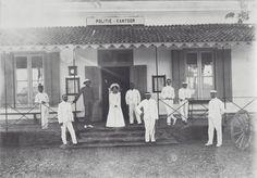 dutch indies police headquarters in meccasarr, 1897