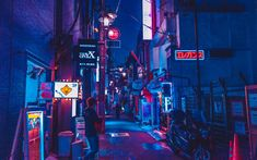 Alleyway, neon light, shop signs and alley HD photo by Benjamin Hung (@benjaminhung) on Unsplash