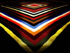 zeppelin #This rug is made in wool  at 100 knots per square  inch. The decoration  is made with concentric  geometrical strongly  colored motifs, inspired  by the Sixties. http://nodusrug.it/it/collezione_tappeti_scheda.php?ID=ZZZEP