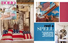 Country Sampler BOHO STYLE magazine features the Junk Gypsy Wander Inn Country Sampler, Southern Hospitality, Come And See, Boho Style, Wander, Boho Fashion, Gypsy, Bathrooms, Projects To Try