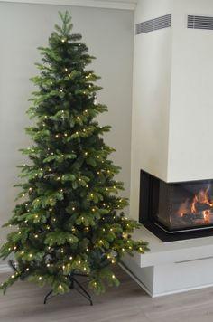 Kunstig juletre med lys 180cm