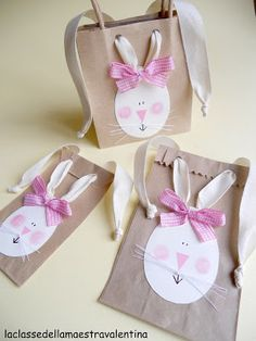 BAGS FOR EASTER BUNNIES