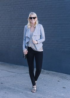BB Dakota Lillian Drapey Front Jacket | The Style Scribe