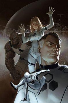 Fantastic Four - Marko Djurdjevic