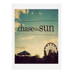Chelsea Victoria Chase The Sun Art Print   DENY Designs Home Accessories