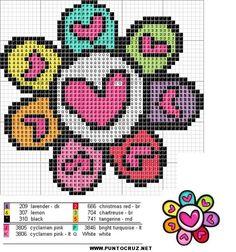 Figuras | Punto de cruz - Colección de patrones punto de cruz gratis.