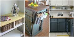 Overlooked Storage Spots - Hidden Storage In Your Home found on housebeautiful.com