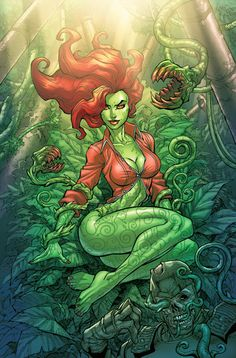 View an image titled 'Poison Ivy Comic Art' in our Batman: Arkham City art gallery featuring official character designs, concept art, and promo pictures. Poison Ivy Comic, Dc Poison Ivy, Poison Ivy Dc Comics, Poison Ivy Batman, Batman Arkham City, Gotham City, Gotham Joker, Joker Arkham, Gotham Villains
