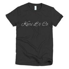 Short sleeve women's Kari L tee