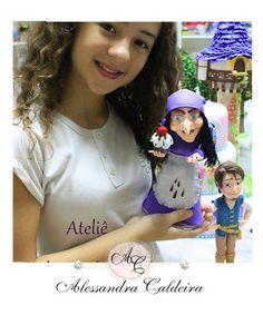Ateliê Alessandra Caldeira Modelagem em Biscuit