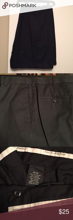 Perry Ellis Portfolio Dress Pants EUC - black dress slacks Perry Ellis Pants Trousers