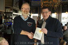Bouke Arends neemt eerste boek Jans Jagt in ontvangst