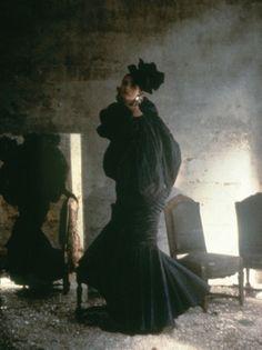 Ungaro, Vogue, 1984   Deborah Turberville Fashion Photographer #belle #epoque