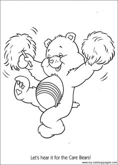 evil cear bears coloring pages - photo#19