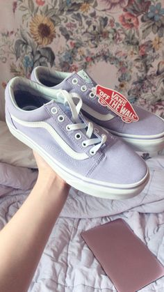 bcf00dc5ed Vans off the wall purple vans lilac vans trendy shoes summer clothing Inspo  inspiration