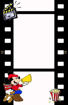 mickey mouse film strip